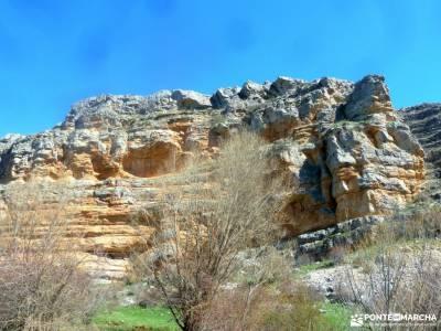 Parque Natural Barranco Río Dulce;caños de meca agencia de viajes rascafria camino del rey